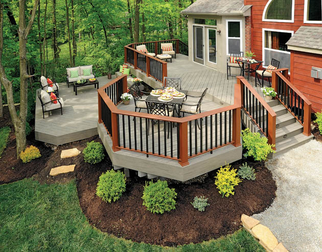 Blog - All Decked Out on Tiered Patio Ideas id=90428