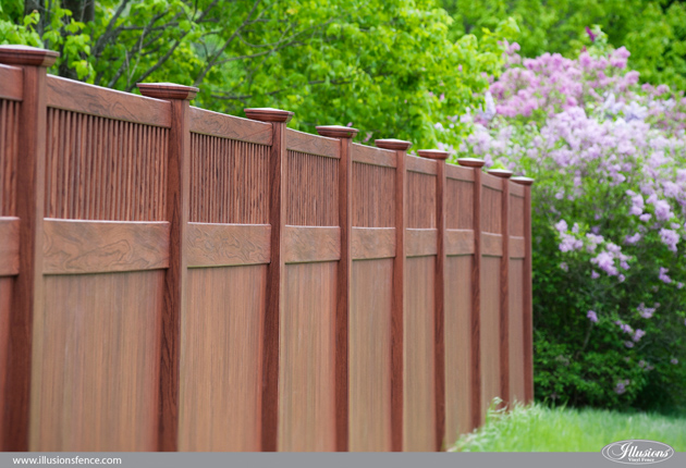 wood-grain-vinyl-pvc-privacy-fence-rosewood-3